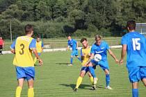 Fotbalový OP Strakonicka: Bavorov - Blatná B 10:1.