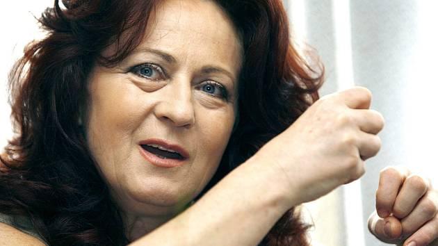 Skvělá herečka Simona Stašová.