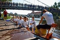 4. ročník festivalu dračích lodí ve Strakonicích - Strakonický drak 2021.