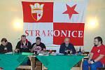 Volební valná hromada odbočky přátel Slavia Praha.