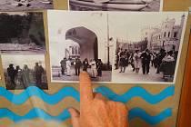 Vodňany – V pátek 26. dubna pokračovala v městském centru výstava historie kanoistiky.
