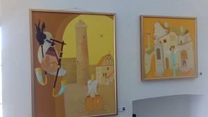 Výstava obrazů na zámku v Chanovicích