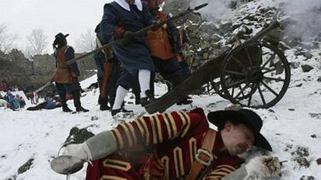 Zimní bitva na Helfenburku.
