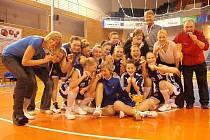 Fantastický medailový úspěch strakonických extraligových basketbalistek. Po urputných bitvách nakonec porazily v boji o bronz Valosun Brno 3:2 na zápasy a získaly pro Strakonice historický medailový úspěch.