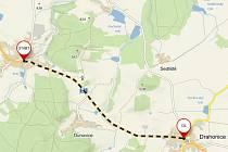 Téměř  čtyři kilometry komunikace čeká oprava povrchu, provoz bude řízen kyvadlově semafory