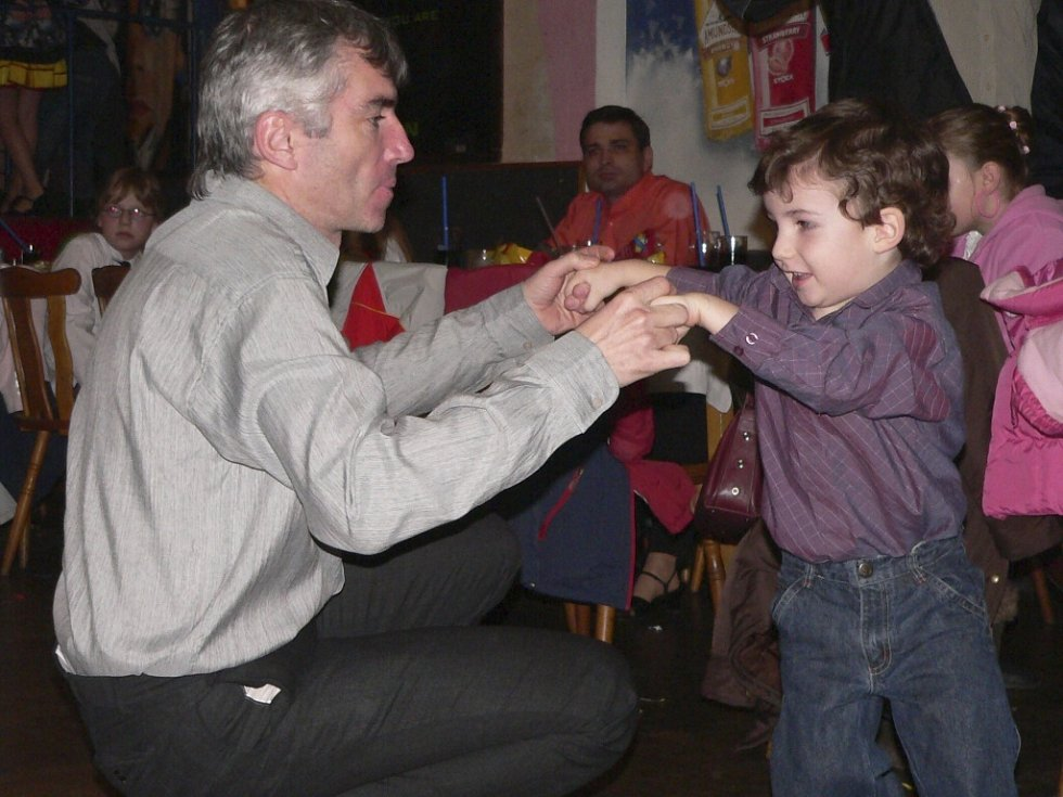 Dětský ples v Cehnicích