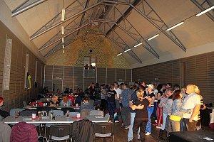 V sobotu 8.12. proběhl v Řepici disco večer v teplácích