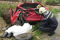 O úklid na místě nehody se postarali hasiči.