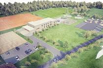 Sportovní areál Blanice po proměně nabídne ucelený prostor pro ubytování, sport a rekreaci.