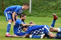 Fotbalová A třída: Sousedovice - Vodňany 0:2.