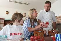Vaření v Dětském domově ve Volyni