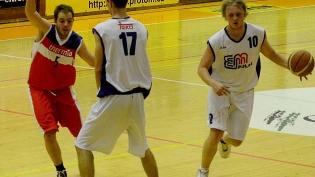 Basketbalisté Strakonic i podruhé v sezoně podlehli Karlovým Varům.