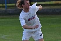 David Horňák (Civa Trans Rovná) dal Drahonicím tři góly.