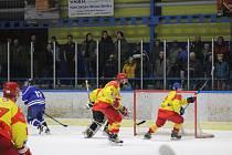 Hokejisty Radomyšle nyní čeká domácí duel s Veselím nad Lužnicí.
