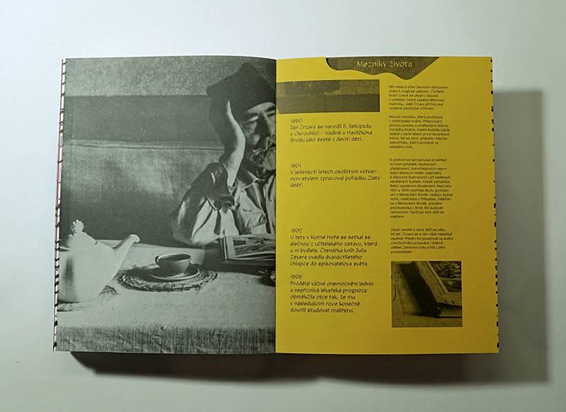 Kniha ke 130. výročí narození malíře Jana Zrzavého.