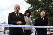 V úterý 25. září se konalo slavnostní otevření parkoviště na Baranově dvoře ve Strakonicích.