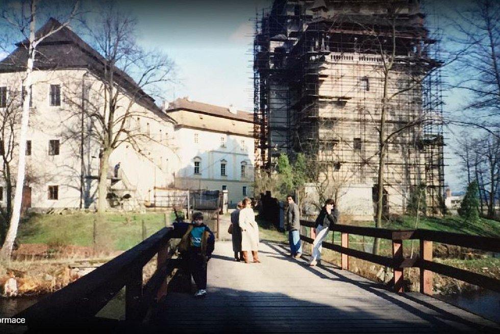 Rejtův Palác rok 1990.