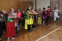 Maškarní karneval ve Štěkni.