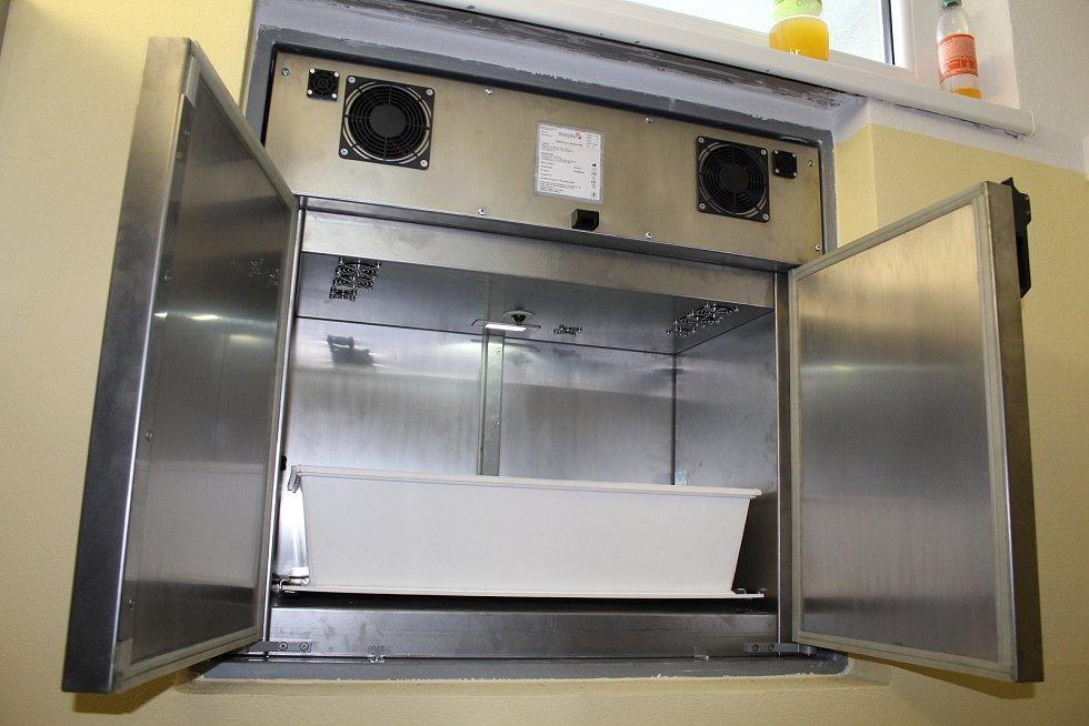 Nový babybox ve strakonické nemocnici.