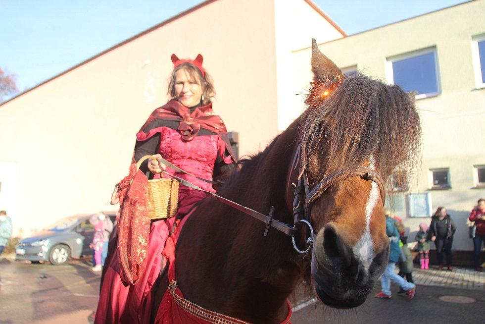 Mikulášská nadílka ve Vodňanech.