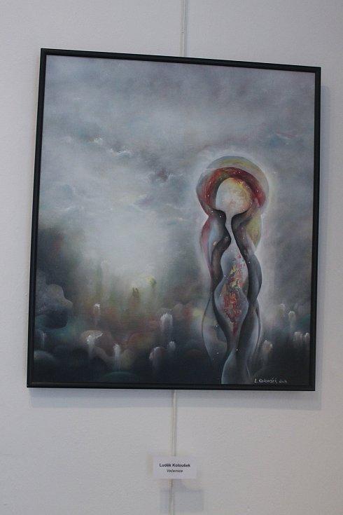 Vodňanská galerie nabídla společnou výstavu jihočeských malířů.