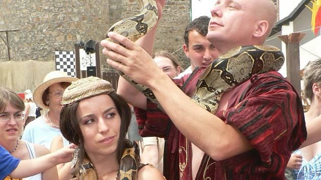 Na Rumpálování byli i hadi