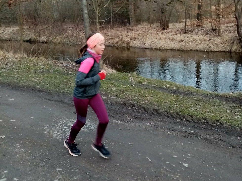 Kateřina Zemanova je zatím v běžecké výzvě nejlepší.