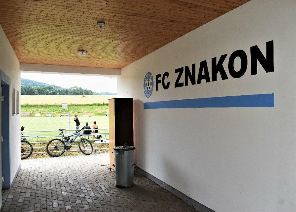 Fotbalová příprava: Znakon Sousedovice - SK Vacov 1:2.