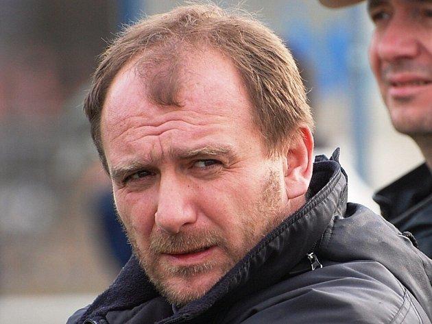 Trenér Katovic Pavel Běloušek.