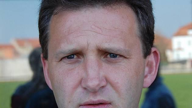 Trenér Michal Brabec