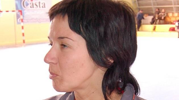 Trenérka Eva Krausová.