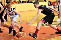 Basketbalové soutěže pokračovaly dalšími zápasy. Ilustrační foto.