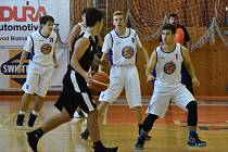 Nadregionální liga U19 SKB Strakonice -  BK Kralupy Junior 44:40.