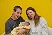 Veronika Pancová, Blatná, 28.11. 2017, v 8.13 hodin,2850 g. Malá Verunka je prvorozená.