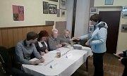 Volební okrsek 3 - Strakonice Habeš. Spadá sem 343 voličů, odvolilo 36 lidí. Před 5 lety přes 80 procent. Tady chodí nejvíce voličů ze Strakonic.