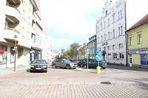 Strakonice, Palackého náměstí. Ilustrační foto