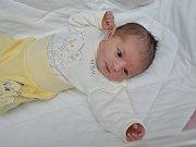 Laura Šenderová, Strakonice, 15.11. 2017, ve 13.58 hodin, 3580 g. Malá Laura je prvorozená.