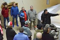 Slávisté navštívili strakonický pivovar.