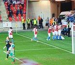 Odbočka přítel Slavie Praha byla opět u vítězství svého týmu.