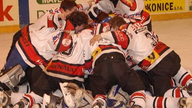 Po úspěchu strakonických hokejových dorostenců se jim radnice rozhodla přilepšit