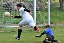 Víkend přinese zajímavé fotbalové boje. Ilustrační foto.