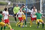 Fotbalisté Junioru Strakonice doma v derby porazili Prachatice 2:0.