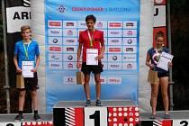 Třetí místo získali strakoničtí biatlonisté po letním kole mistrovství v kategorii dospělých i dorostu