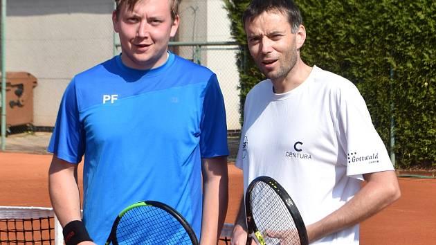 Přemek a Tomáš Fialovi.