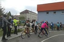Oblastní kolo mladých cyklistů Besip.