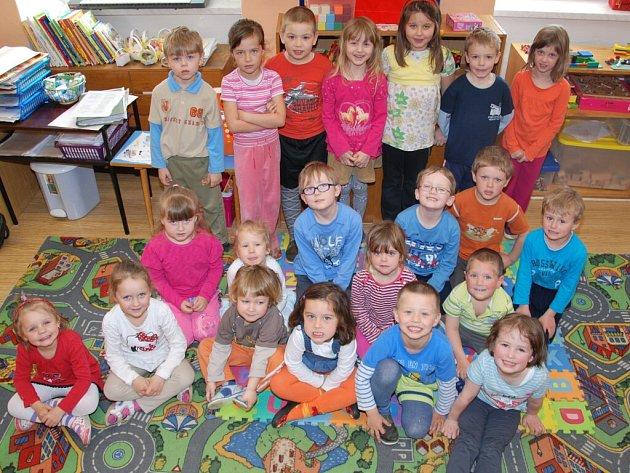 Děti v Čepřovicích.