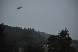 U Drahonic se stala dopravní nehoda. Tři lidé se zranili.