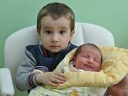 Emma Nováková, Kapsova Lhota, 13.4. 2017 v 8.13 hodin, 3570 g. Malá Emma má brášku Matyáše (2,5).