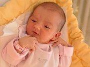 Lilian Pelešková, Strako- nice, 29.6. 2017 v 9.05 hodin, 3140g. Malá Lilian je prvorozená.