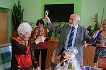 Marie Honnerová z Vodňan oslavila 100. narozeniny